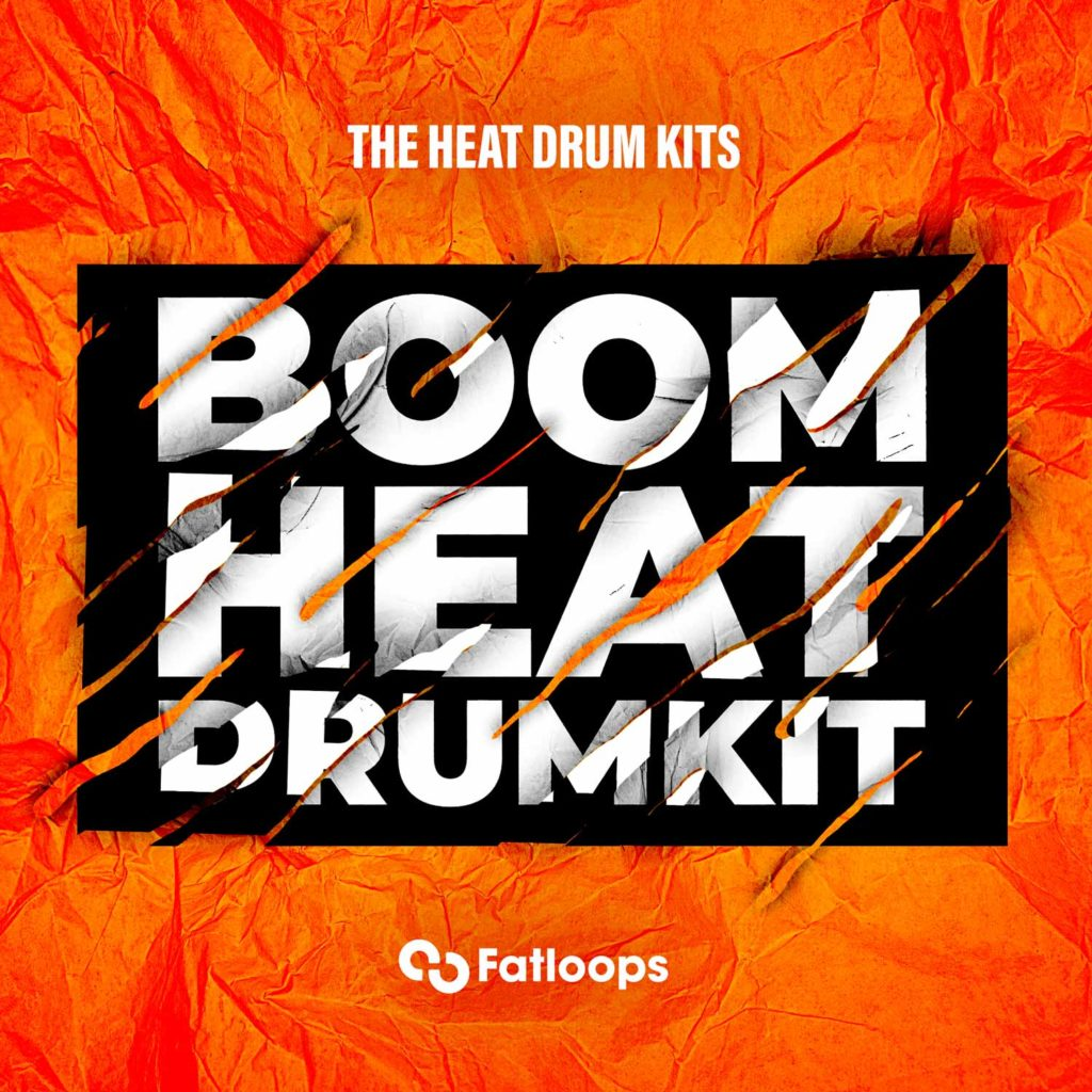 "Free Hip Hop Drum Kit Download ""Boom Heat"" (Exclusive) 